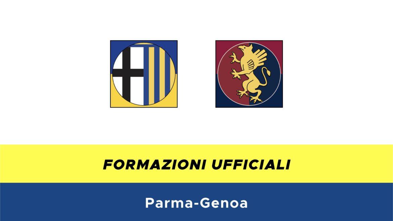Parma-Genoa formazioni ufficiali