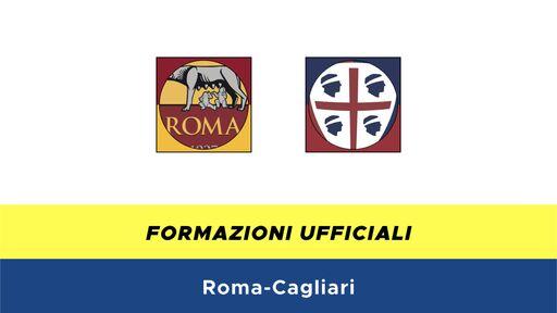 Roma-Cagliari formazioni ufficiali