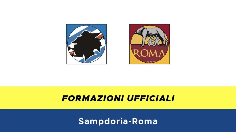 Sampdoria-Roma formazioni ufficiali