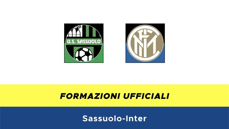 Sassuolo-Inter formazioni ufficiali