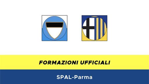 SPAL-Parma formazioni ufficiali