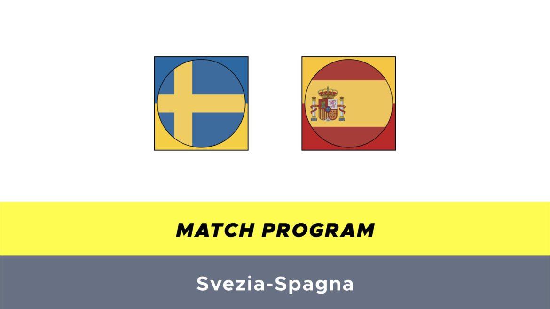 Svezia-Spagna probabili formazioni