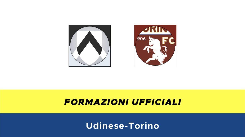 Udinese-Torino formazioni ufficiali