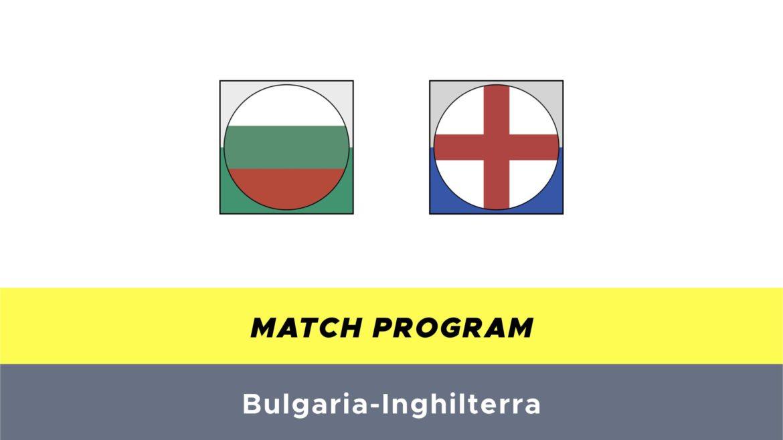 Bulgaria-Inghilterra probabili formazioni