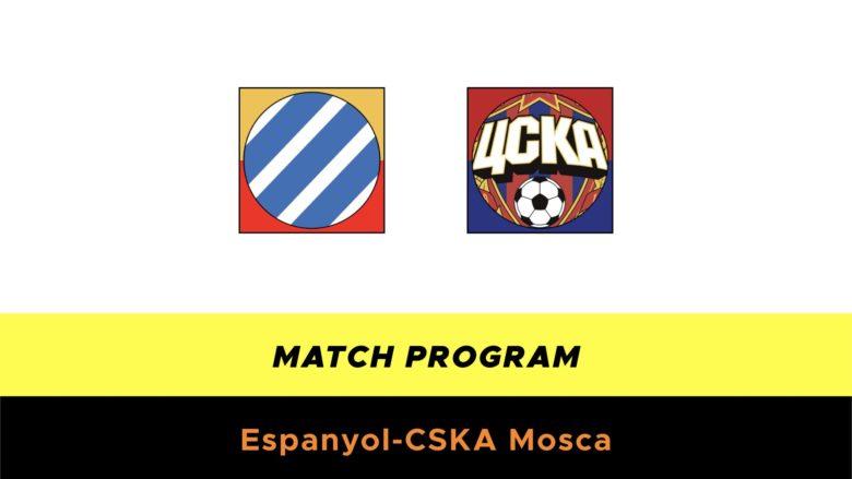Espanyol-CSKA probabili formazioni