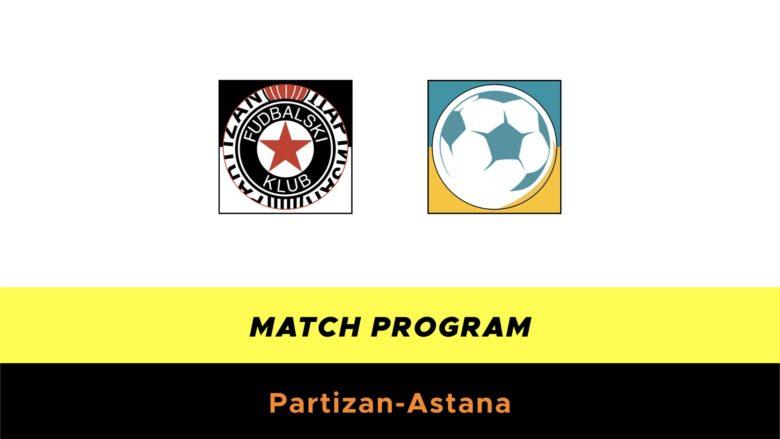 Partizan-Astana probabili formazioni
