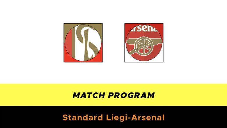 Standard Liegi-Arsenal probabili formazioni