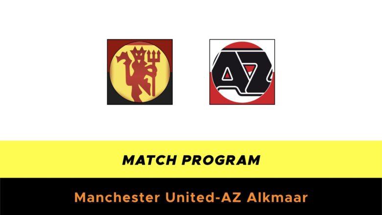 Manchester United-AZ probabili formazioni