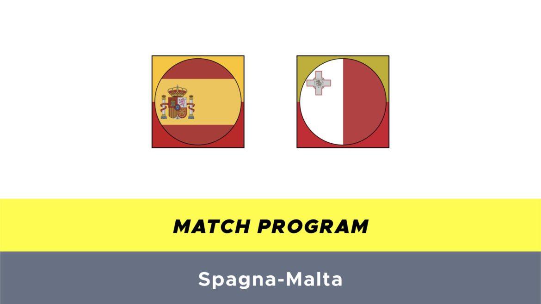 Spagna-Malta probabili formazioni