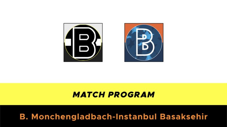 Borussia Monchengladbach-Istanbul Basaksehir probabili formazioni