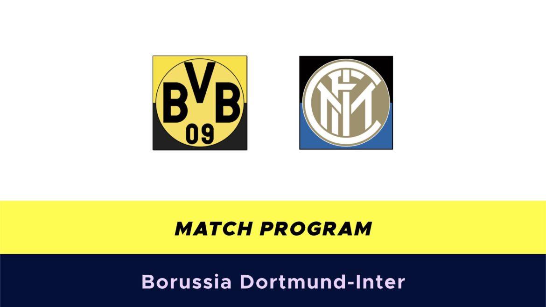 Borussia Dortmund-Inter probabili formazioni