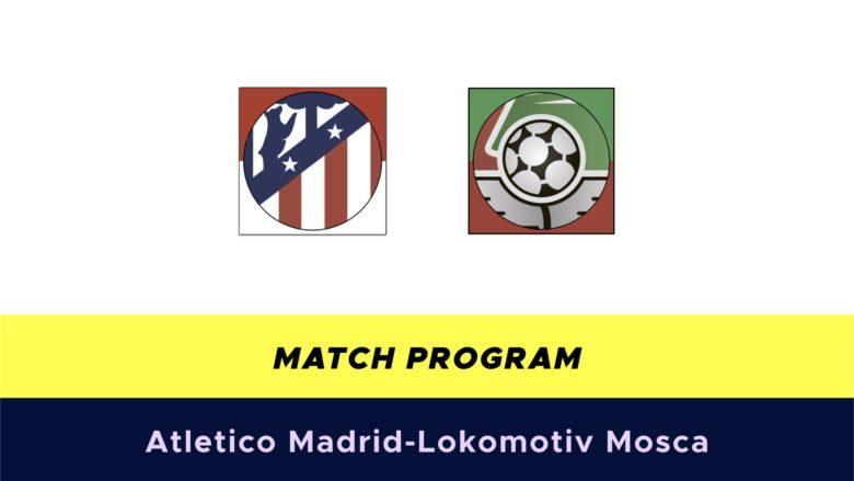 Atletico Madrid-Lokomotiv Mosca probabili formazioni