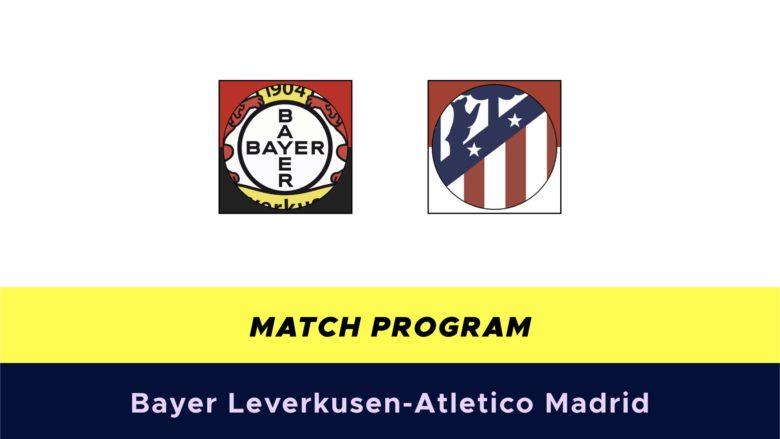 Bayer Leverkusen-Atletico Madrid probabili formazioni