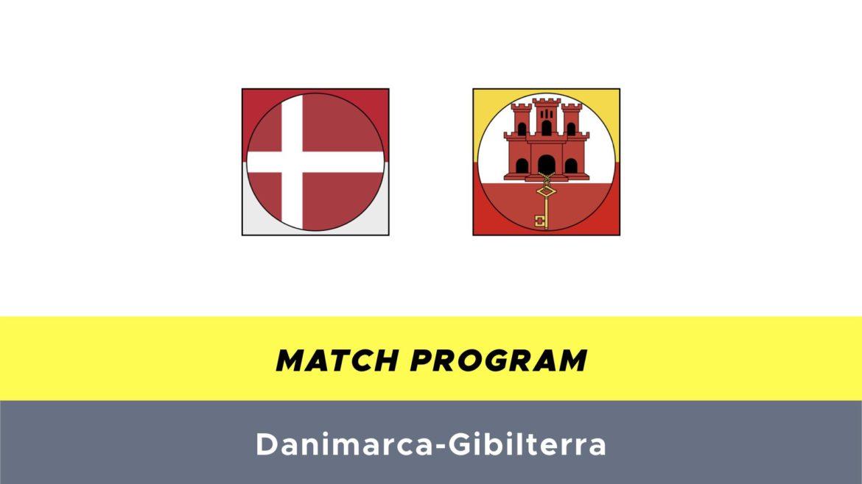 Danimarca-Gibilterra probabili formazioni