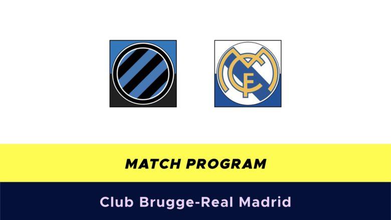 Club Brugge-Real Madrid probabili formazioni