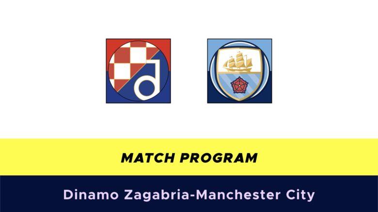 Dinamo Zagabria-Manchester City probabili formazioni