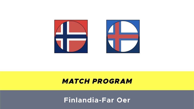 Norvegia-Far Oer probabili formazioni