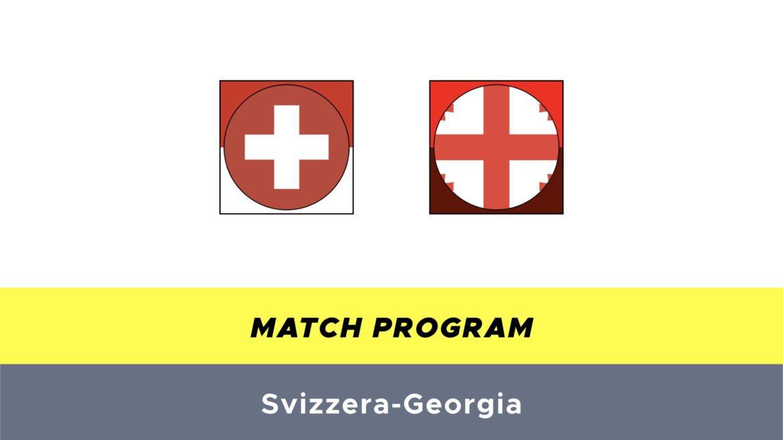Svizzera-Georgia probabili formazioni