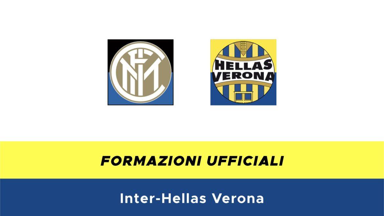 Inter-Hellas Verona formazioni ufficiali