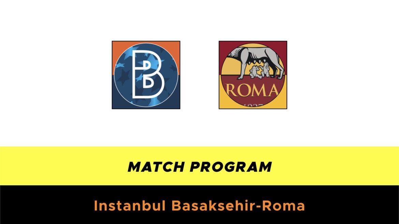 Istanbul Basaksehir-Roma probabili formazioni