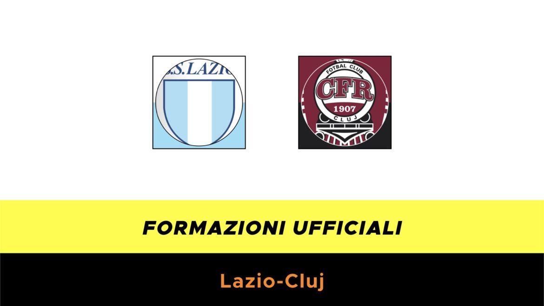 Lazio-Cluj formazioni ufficiali