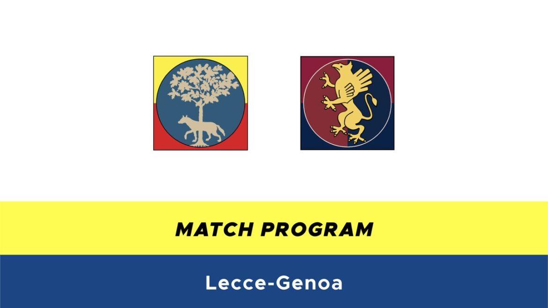 Lecce-Genoa probabili formazioni