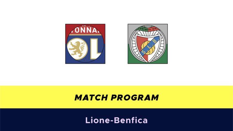 Lione-Benfica probabili formazioni