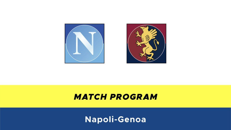 Napoli-Genoa probabili formazioni