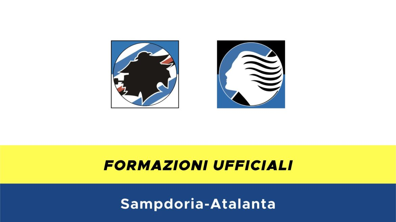 Sampdoria-Atalanta formazioni ufficiali