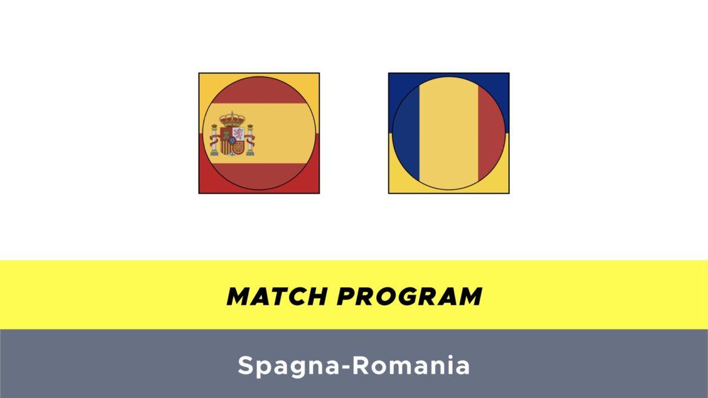 Spagna-Romania probabili formazioni