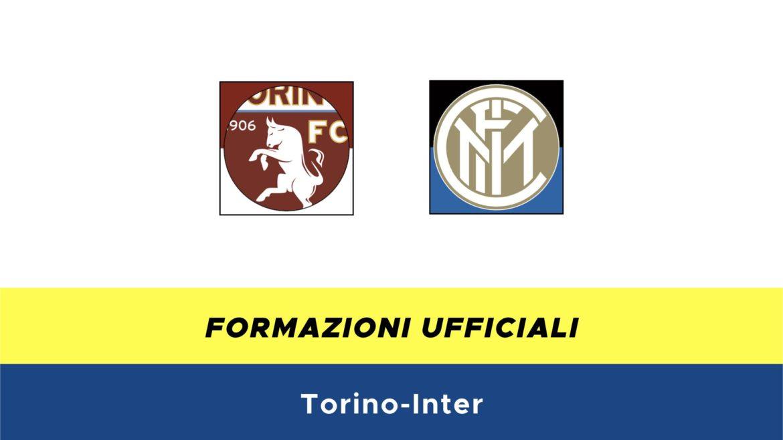 Torino-Inter formazioni ufficiali