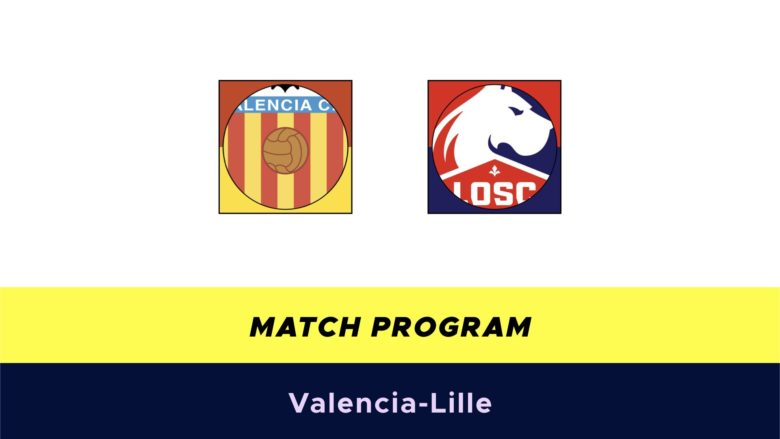 Valencia-Lille probabili formazioni