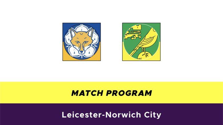 Leicester-Norwich probabili formazioni