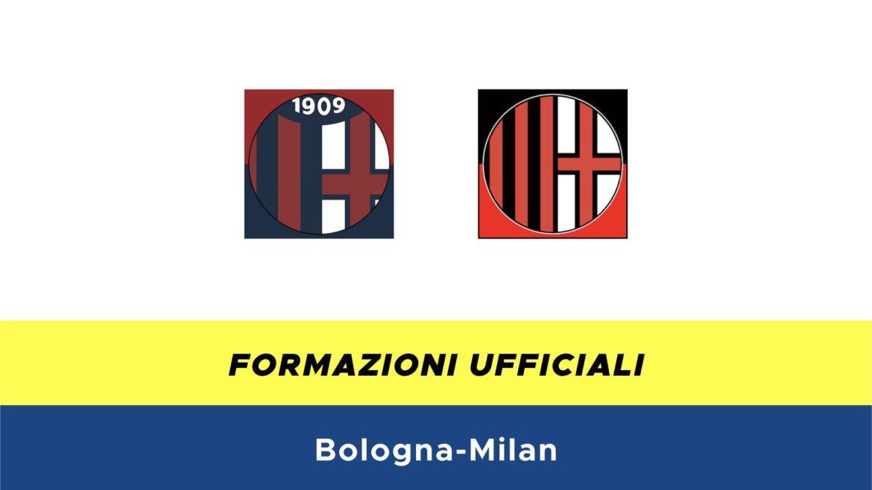 Bologna-Milan formazioni ufficiali