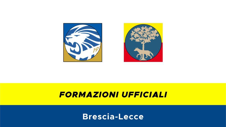 Brescia-Lecce formazioni ufficiali