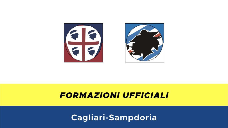 Cagliari-Sampdoria formazioni ufficiali