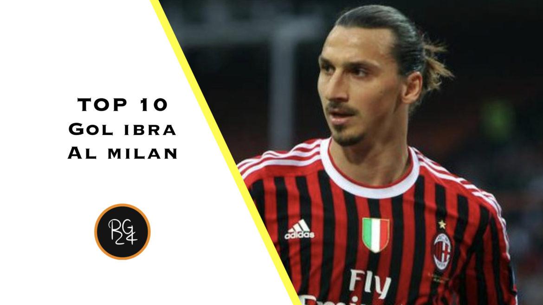 goal di Zlatan Ibrahimovic con la maglia del Milan