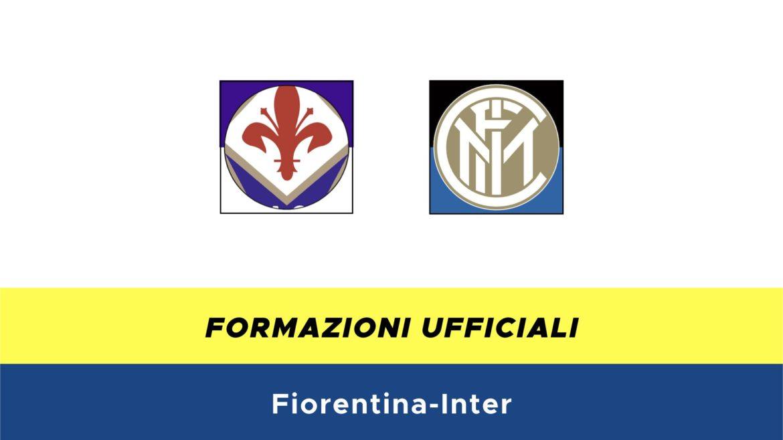 Fiorentina-Inter formazioni ufficiali
