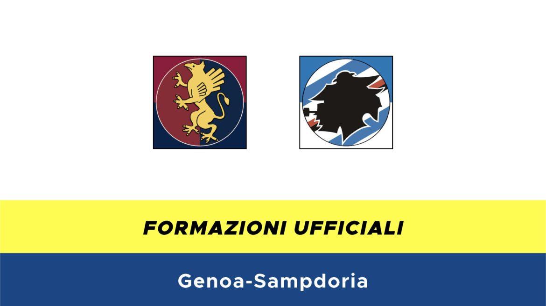 Genoa-Sampdoria formazioni ufficiali