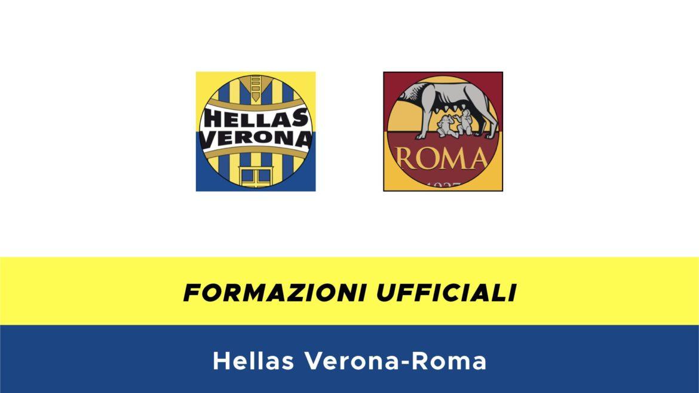 Hellas Verona-Roma formazioni ufficiali