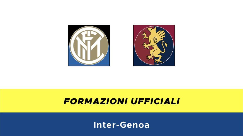 Inter-Genoa formazioni ufficiali
