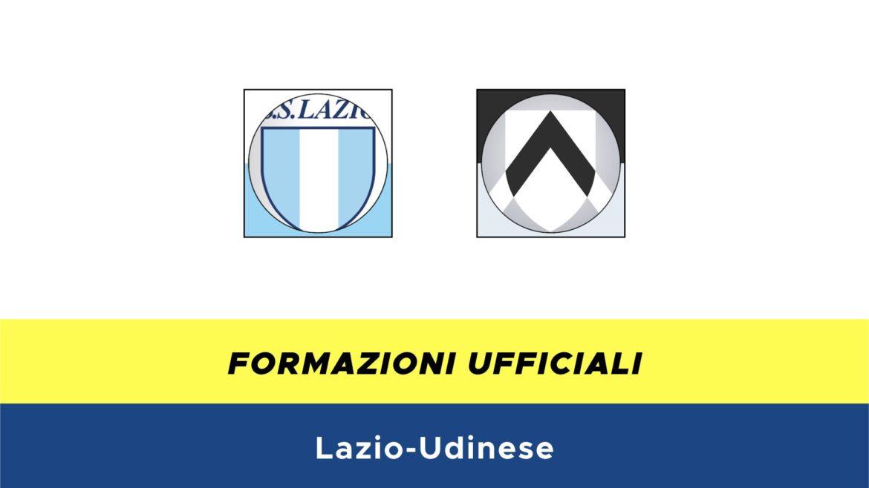 Lazio-Udinese formazioni ufficiali