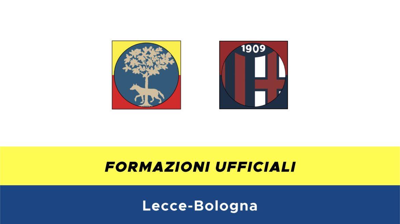 Lecce-Bologna formazioni ufficiali