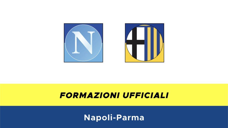 Napoli-Parma formazioni ufficiali