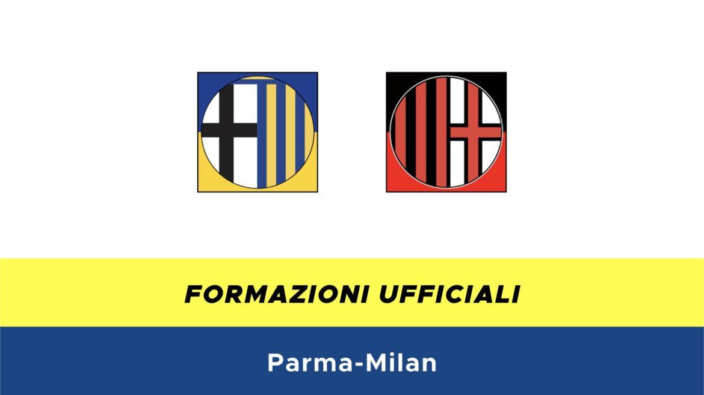 Parma-Milan formazioni ufficiali