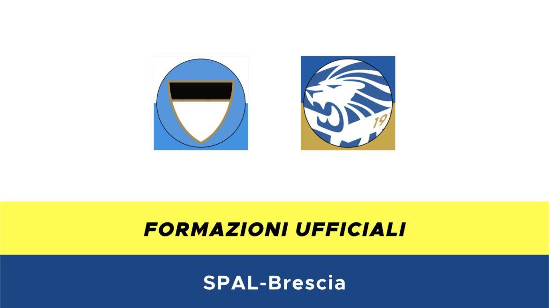 SPAL-Brescia formazioni ufficiali