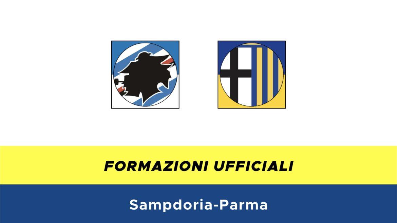 Sampdoria-Parma formazioni ufficiali