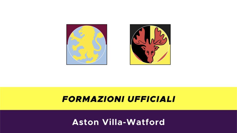 Aston Villa-Watford formazioni ufficiali