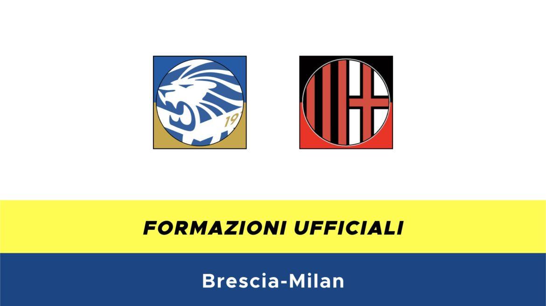 Brescia-Milan formazioni ufficiali