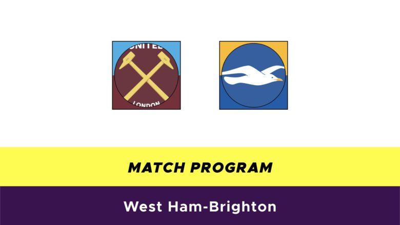 West Ham-Brighton probabili formazioni